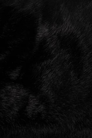 Fabric - Eco Fur - Black- 150 cm - 490 g/m2 thumbnail