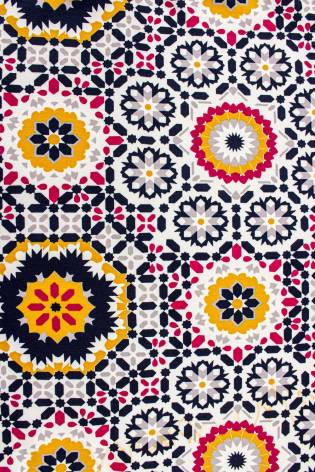 Knit - French Terry - Kaleidoscope Pattern - 180 cm - 260 g/m2 thumbnail