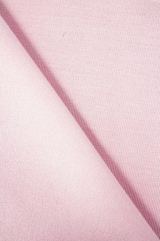 Tkanina flausz wełniany - pudrowy róż - 150cm 330g/m2