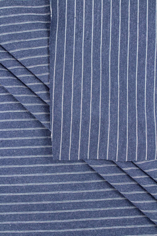 Knit - Jersey - Navy Blue With Stripes - 160 cm - 175 g/m2