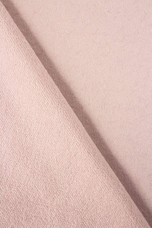 Tkanina flanelowa płaszczowa - pudrowy róż - 150cm 350g/m2