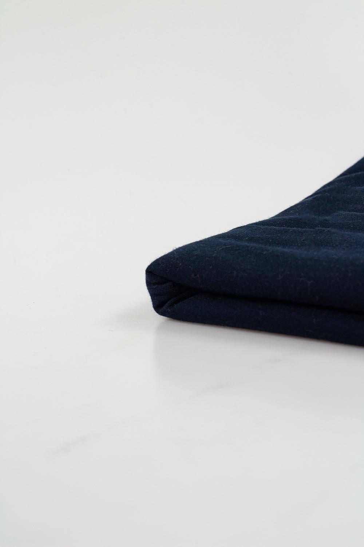 Knit - Jersey - Navy Blue  - 85 cm/ 170 cm - 170 g/m2