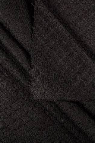 Knit - Quilted - Black - 155 cm - 340 g/m2 thumbnail