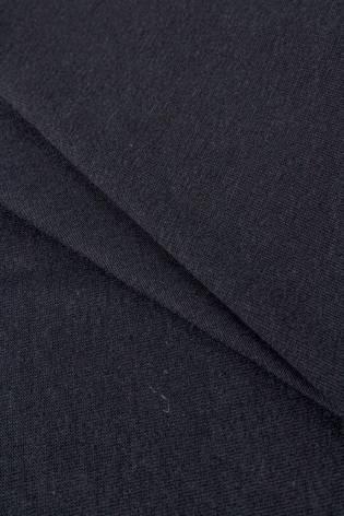 Dzianina jersey czarny GOTS - 180cm 180g/m2 thumbnail