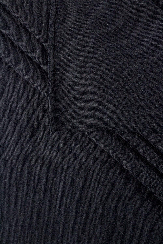 Dzianina jersey czarny GOTS - 180cm 180g/m2