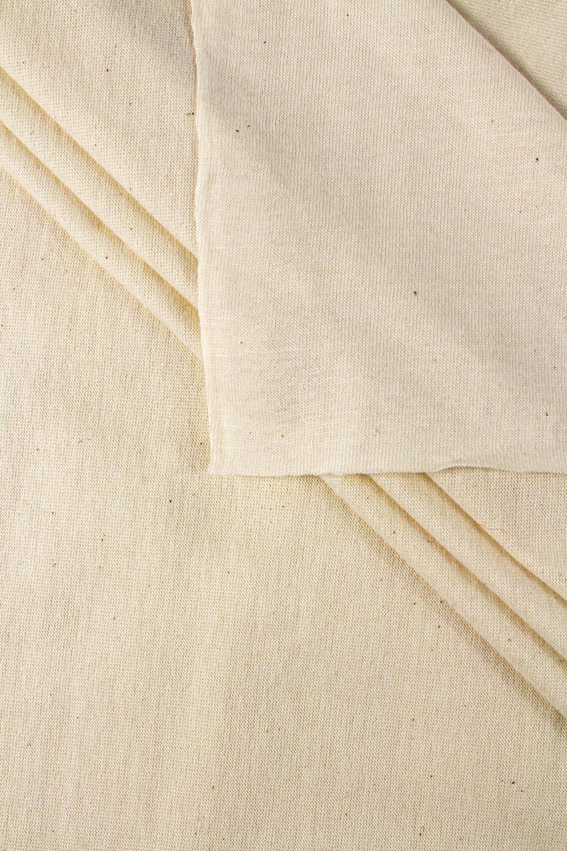 Dzianina jersey pranie (ecru)  GOTS - 180cm 180g/m2