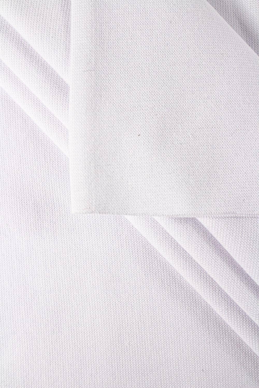 Ściągacz gładki GOTS - optyczna biel - 80cm/160 260g/m2