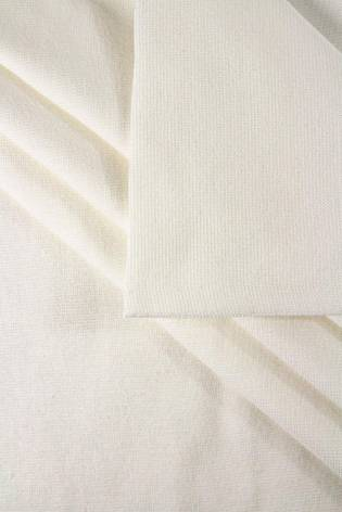 Knit - Welt - Smooth - Chemical White - GOTS - 80 cm/160 cm - 260 g/m2 thumbnail