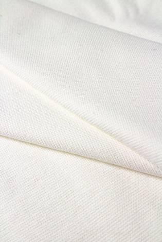 Ściągacz gładki GOTS - chemiczna biel (śmietanka) - 80cm/160 260g/m2 thumbnail