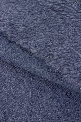 Fabric - Fur/Sheepskin - Blue - 150 cm - 400 g/m2 thumbnail