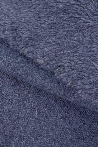 Futerko/baranek na dzianinie - niebieski - 150cm 400g/m2 thumbnail