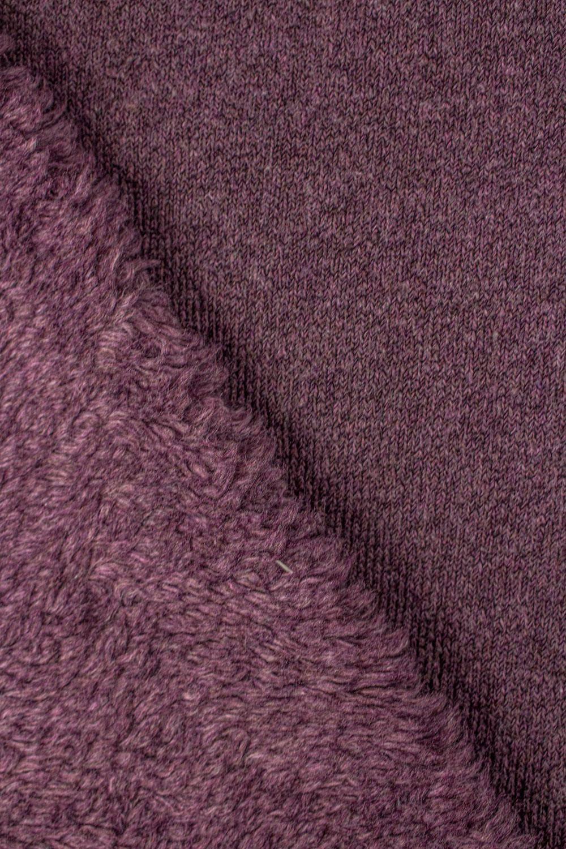 Fabric - Fur/Sheepskin - Purple - 150 cm - 400 g/m2