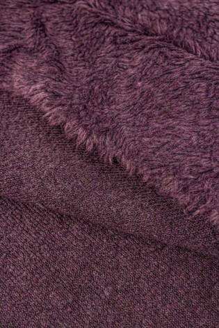 Fabric - Fur/Sheepskin - Purple - 150 cm - 400 g/m2 thumbnail