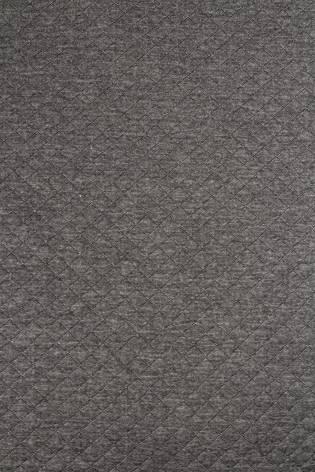 Dzianina dresowa pikowana - szary melanż - 155cm 280g/m2 thumbnail