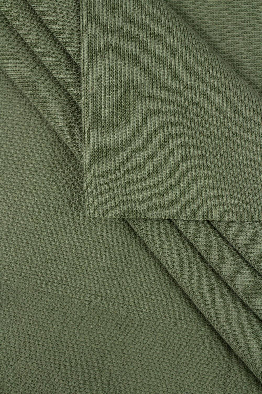 Ściągacz prążkowany -khaki - 50cm/100cm 260g/m2