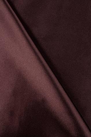 Tkanina satyna/atłas brązowa - 145cm 100g/m2 thumbnail