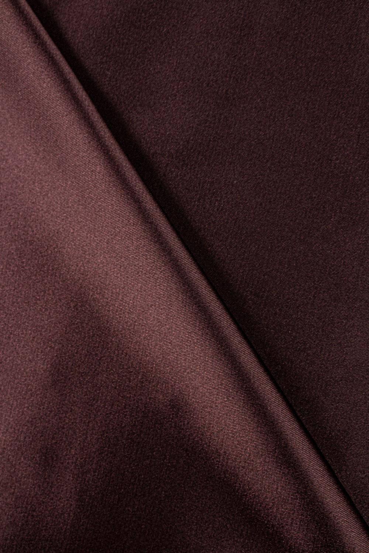 Tkanina satyna/atłas brązowa - 145cm 100g/m2