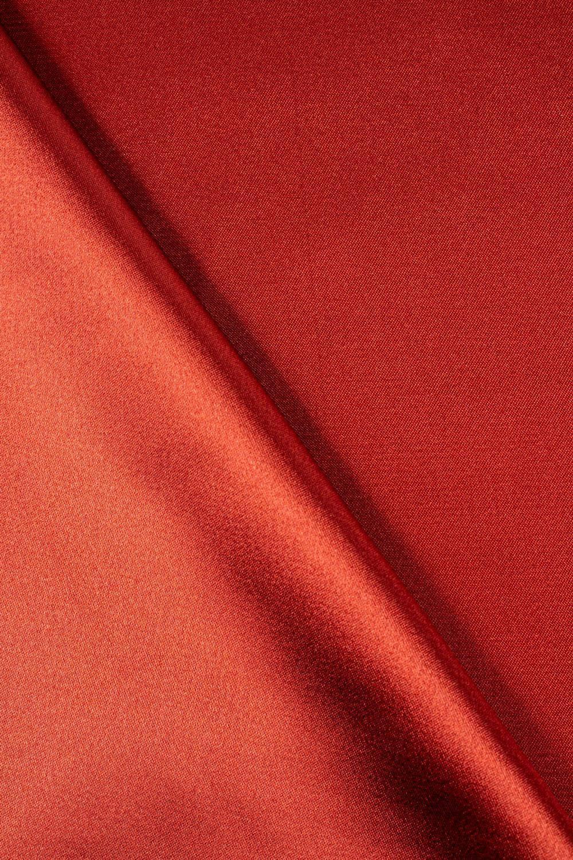 Tkanina satyna/atłas ceglana - 145cm 100g/m2