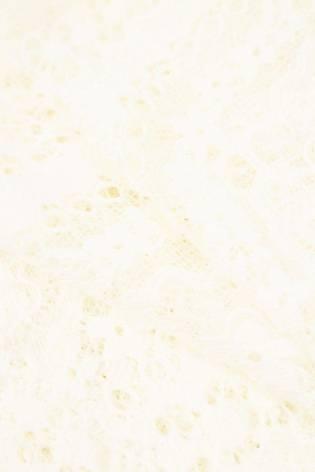 Tkanina koronka w kwiaty - śmietankowy - 150cm 170g/m2 thumbnail