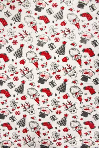 copy of Knit - French Terry - Kaleidoscope Pattern - 180 cm - 260 g/m2 thumbnail