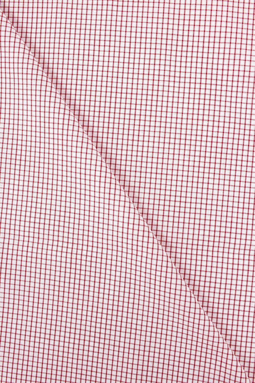 Tkanina koszulowa w drobną kratkę - 150cm 100g/m2