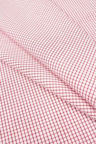 Tkanina koszulowa w drobną kratkę - 150cm 100g/m2 thumbnail