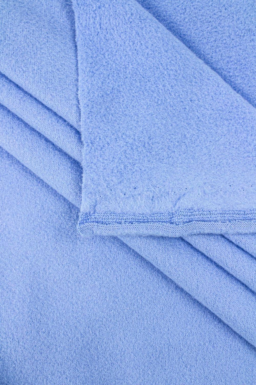 Dzianina polarowa błękitna - 190cm 230g/m2