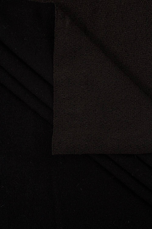 Dresówka pętelka czarna - 170cm 250g/m2