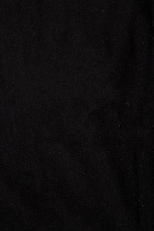 Dresówka pętelka czarna - 170cm 250g/m2 thumbnail