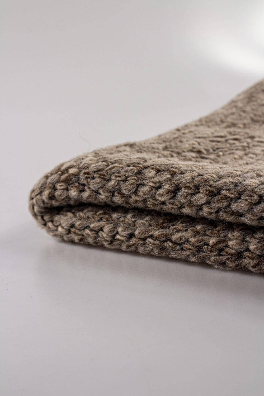 copy of Knit - Sweatshirt Fleece - Grey Melange With Abstraction Pattern - 175 cm - 360 g/m2 STOCK