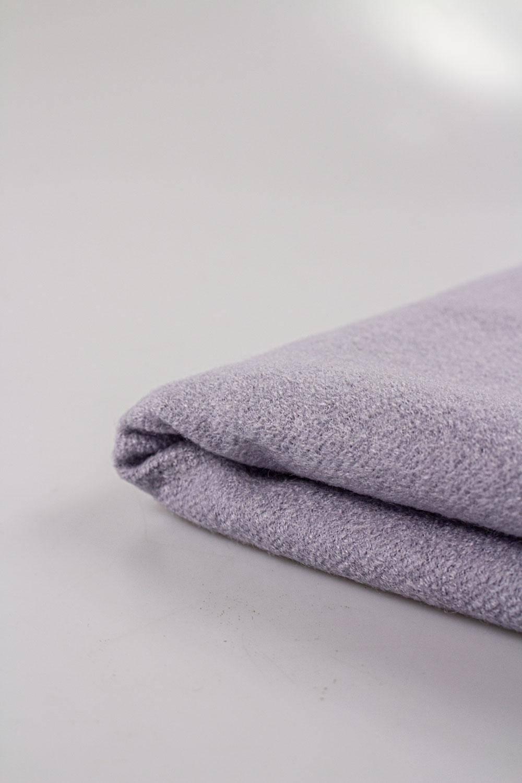 Tkanina flausz wełniana - wrzos - 150cm 350g/m2 STOK