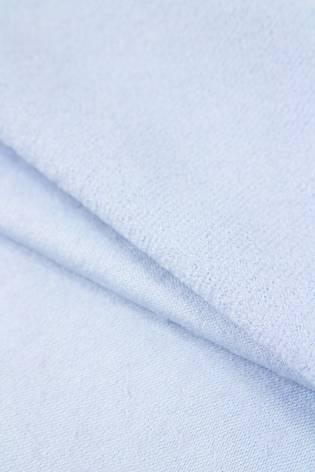 Tkanina flausz wełniana - niebieski - 150cm 350g/m2 STOK thumbnail