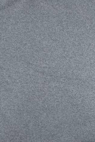 Dzianina dresówka pętelka niebieski melanż KUPON 2 MB thumbnail