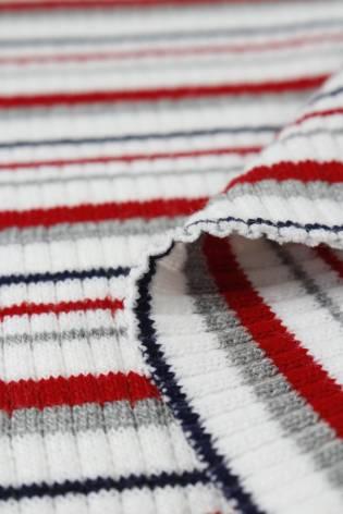 Dzianina sweterkowa kolorowe paski KUPON 2 MB thumbnail