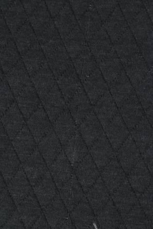 Dzianina dresówka pikowana grafitowa KUPON 2 MB thumbnail