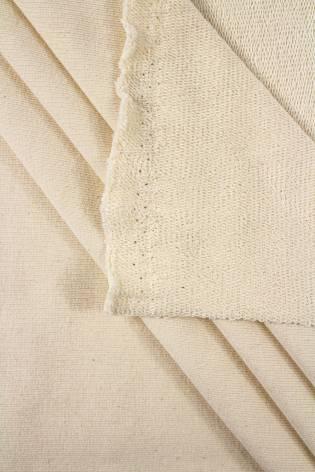 Dresówka pętelka pranie (ecru) GOTS - 200cm 300g/m2 thumbnail