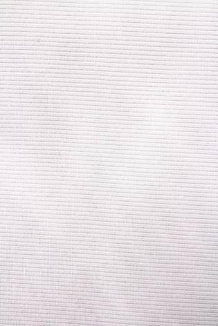Ściągacz prążek GOTS - optyczna biel - 60cm/120 420g/m2 thumbnail