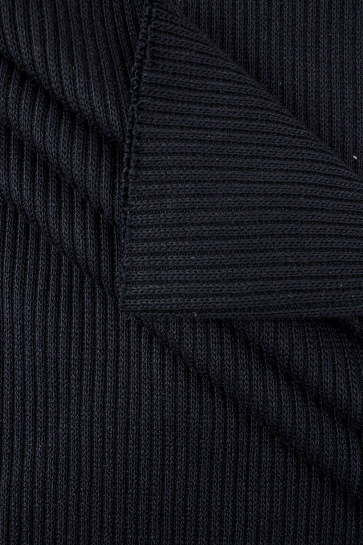Ściągacz prążkowany sweterkowy - grafitowy - 50cm/100cm 400g/m2