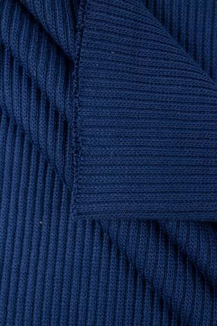 Ściągacz prążkowany sweterkowy - chabrowy - 50cm/100cm 400g/m2 thumbnail
