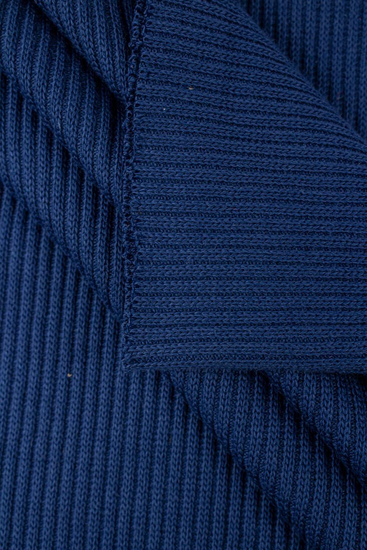 Ściągacz prążkowany sweterkowy - chabrowy - 50cm/100cm 400g/m2