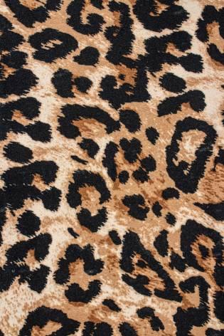 Dzianina welur - gepard - 160cm 250g/m2 thumbnail