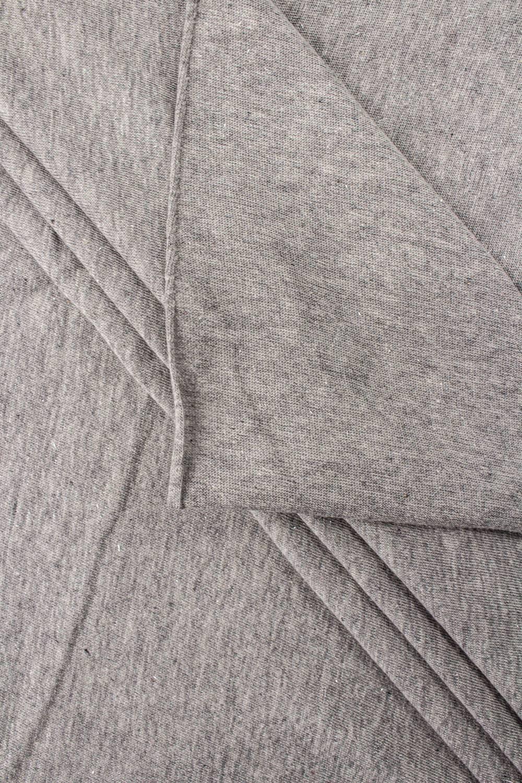 Dzianina jersey szary melanż z brokatem - 175cm 140g/m2