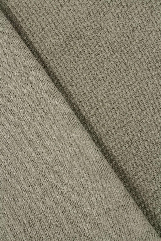 Dzianina sweterkowa oliwka  - 170cm 280g/m2