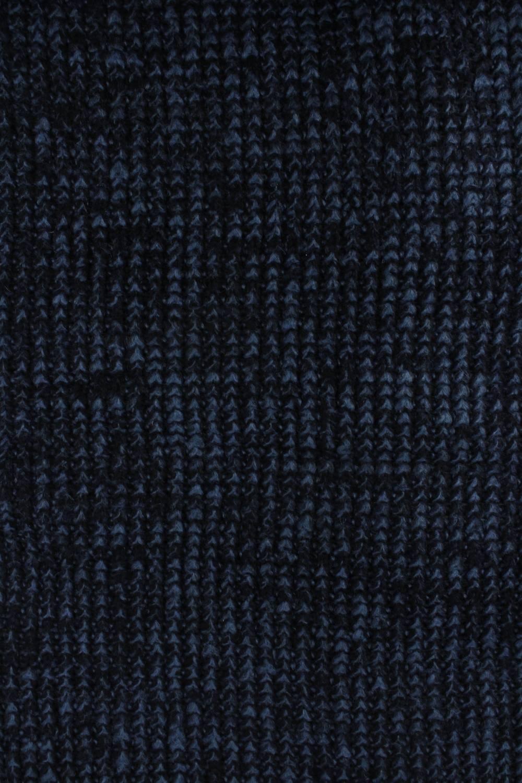 Dzianina sweterkowa granatowa KUPON 2 MB