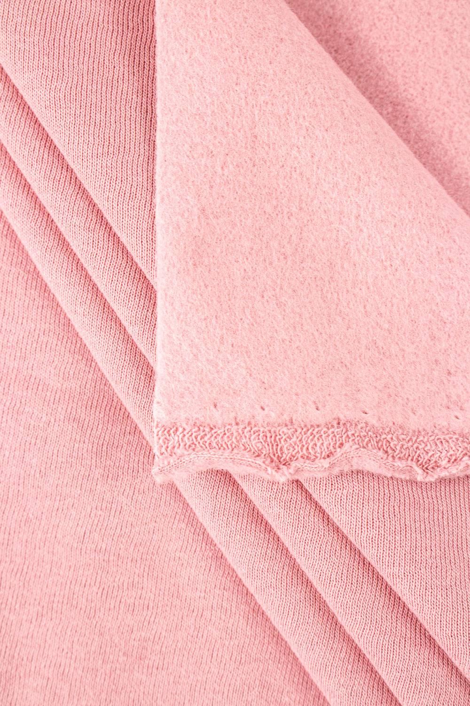 Dzianina dresowa drapana pastelowy róż - 180cm 260g/m2