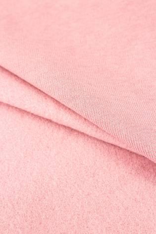 Dzianina dresowa drapana pastelowy róż - 180cm 260g/m2 thumbnail
