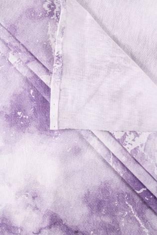 Dzianina jersey batik fioletowy - 150cm 110g/m2 thumbnail