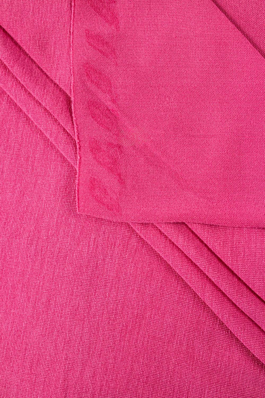 Dzianina jersey wiskozowy - różowy - 165cm 160g/m2