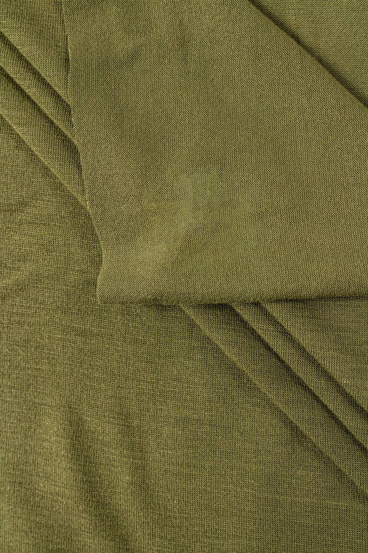 Knit - Viscose Jersey - Khaki - 175 cm - 195 g/m2