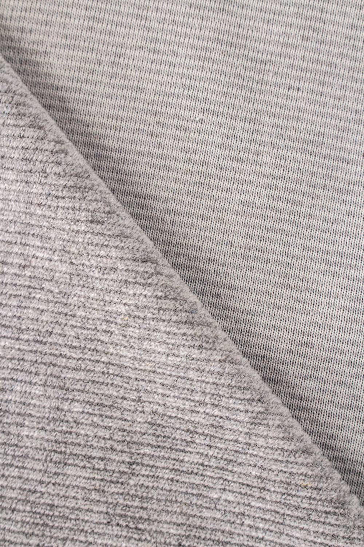 Knit - Velour - Ribbed - Grey - 185 cm - 230 g/m2